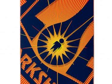 Alien Workshop Logo DeckOG Burst        Red8  IN