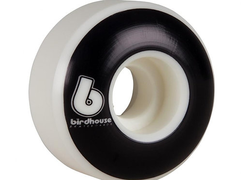 Birdhouse Wheels	B Logo 99a (PK 4)	White/Black	52  MM