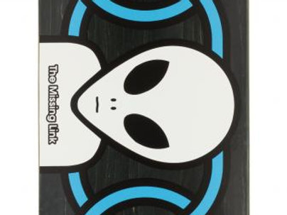 Alien Workshop Logo DeckMissing Link Black8.125  IN