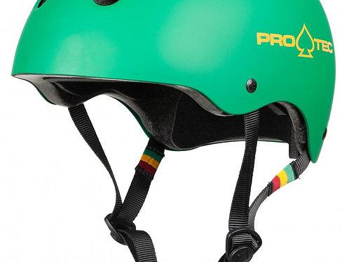 Pro-Tec Helmet Classic CertifiedMatte Rasta Green