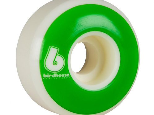 Birdhouse Wheels	B Logo 99a (PK 4)	White/Green	54  MM
