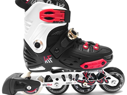 PATIN KRF FREESKATE FIRST NEGRO-ROJO