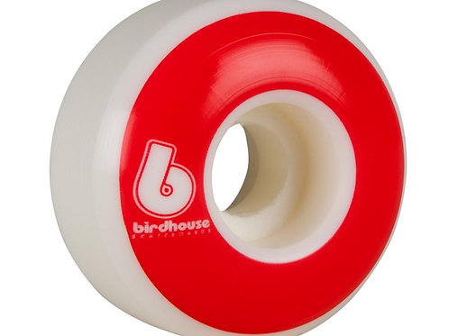 Birdhouse WheelsB Logo 99a (PK 4)White/Red53  MM