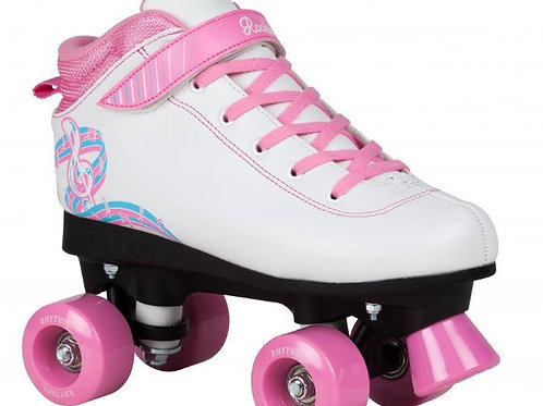 PATIN ROOKIE RHYTHM Blanco/Rosa