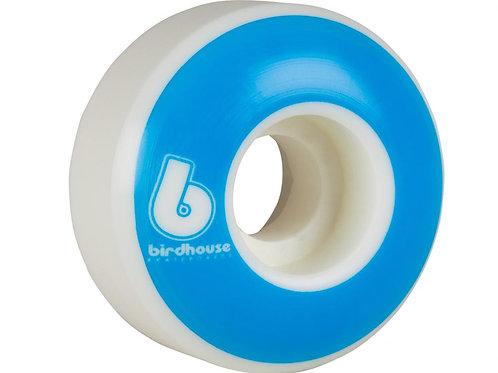 Birdhouse WheelsB Logo 99a (PK 4)White/Blue51  MM