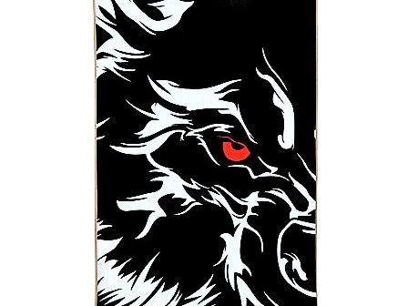 SKATEBOARD BESTIAL WOLF WILD