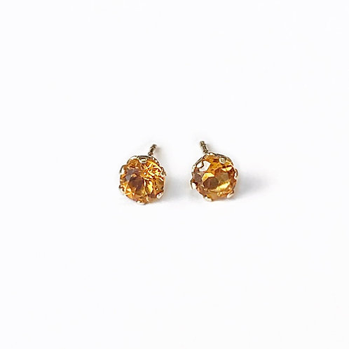 Precious Citrine Earrings
