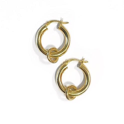 Orbit Circle Hoops