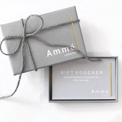 Online Ammé Gift Voucher