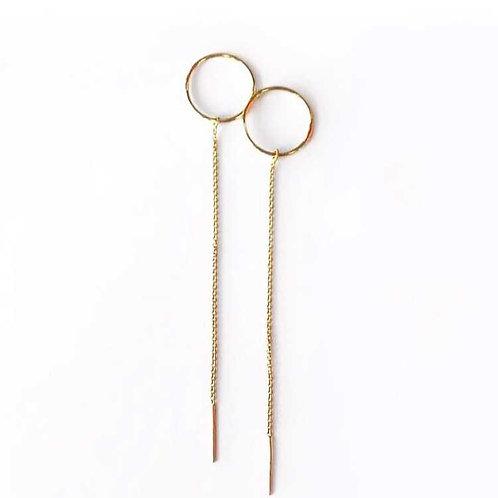 Karma Threader Earrings