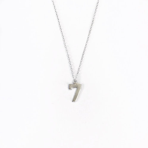 Lucky Number Necklace