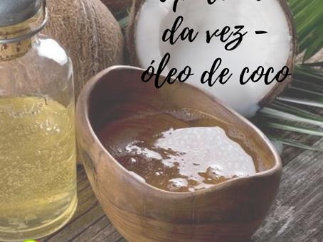 A polêmica óleo de coco