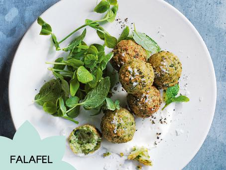 Receita Vegana de Falafel