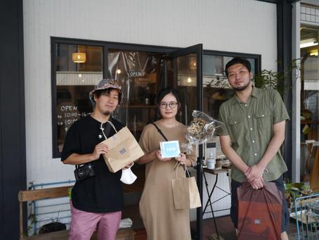 東京都内で活動中のバンド【iyu】さんご来店頂きました