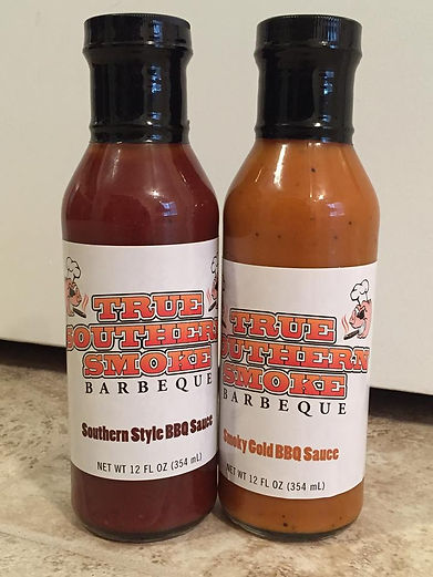 2 Bottles of BBQ Sauce