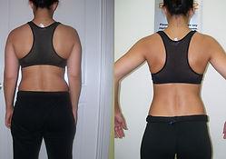 Female body transformation
