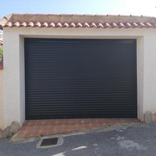 Anthracite Grey C77 Security  Roller Door