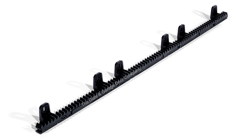 1 Meter Steel Core Toothed Rack for Sliding Gates