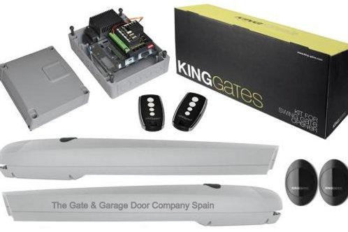King Gates Couper 24v 400 Swing Gate Kit