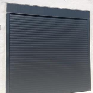 Anthracite Grey C77 Security Garage Door