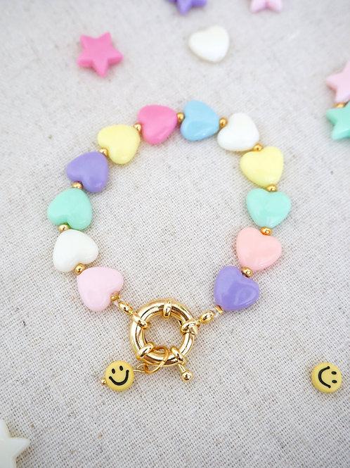 Bracelet COLOR POP - Heart