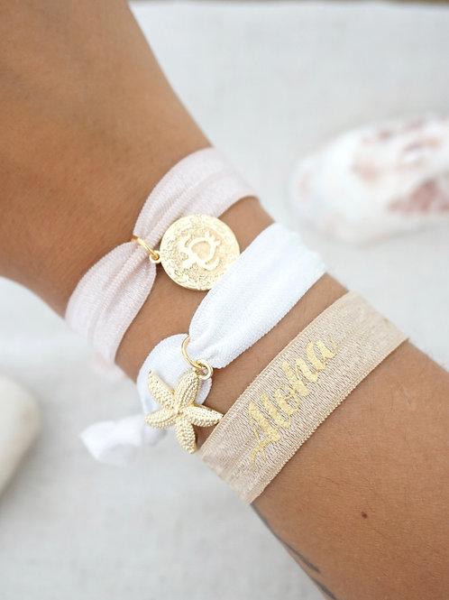 Lot de 3 bracelets IBIZA - Nude