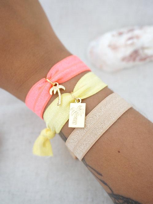 Lot de 3 bracelets IBIZA - Néon