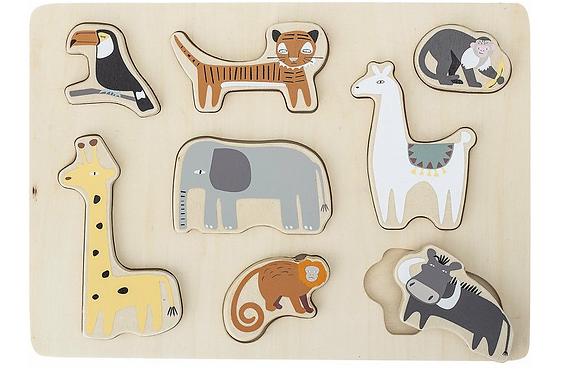 Puzzle animaux exotiques