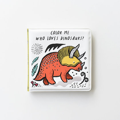 Bath Book Dinosaurs