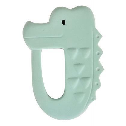 Anneau de dentition Crocodile en caoutchouc naturel