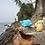 Thumbnail: Jouet caoutchouc pour le bain Tikiri   Tortue verte
