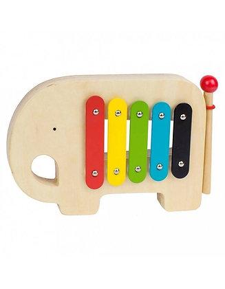 Xylophone en bois éléphant