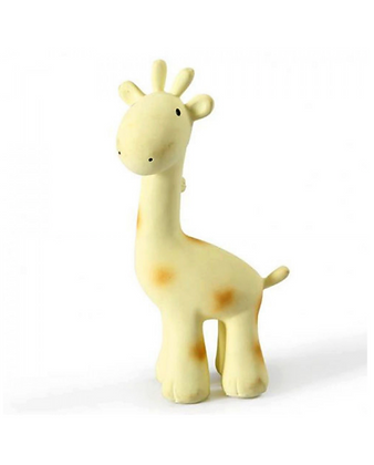 Jouet caoutchouc pour le bain Tikiri | Girafe