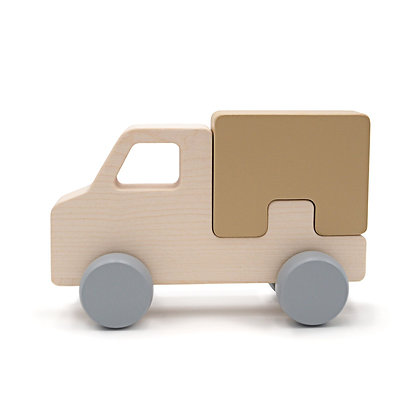 Puzzle truck camel