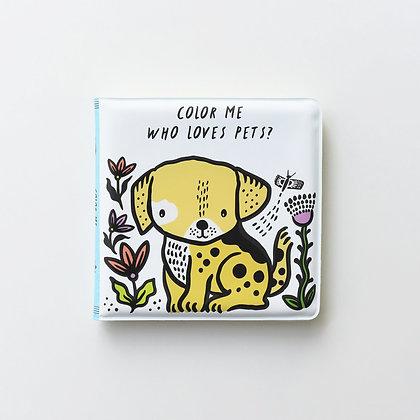 Bath book Pets
