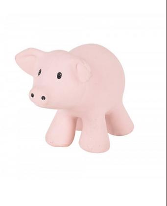 Jouet caoutchouc pour le bain Tikiri | Petit cochon