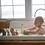 Thumbnail: Jouet caoutchouc pour le bain Tikiri | Lion