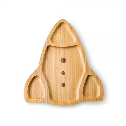 "Bamboo plate ""Rocket"""