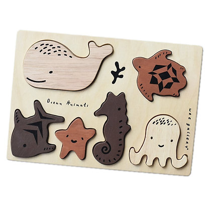 Puzzle en bois Les Animaux des Océans