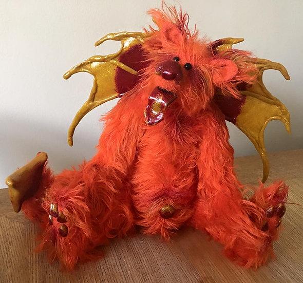 Pyro - a fire dragon