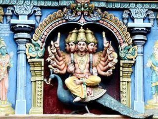 Yoga Postures & Hindu Deities