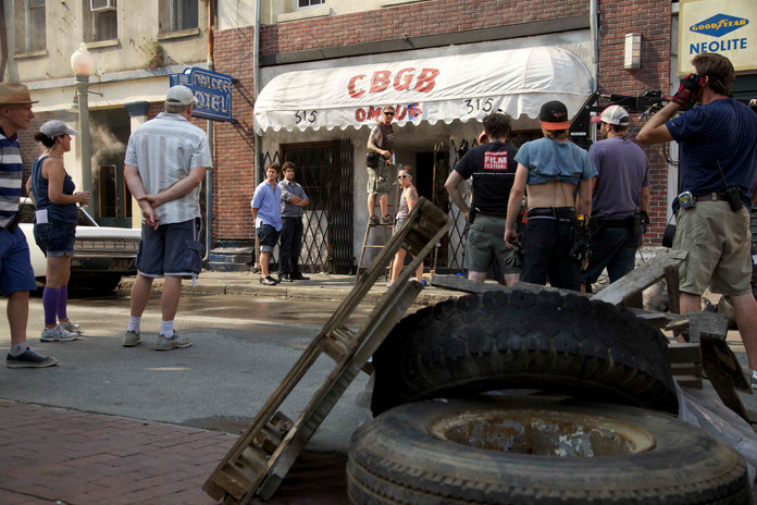 mt_crew on the set of cbgb photo by beau
