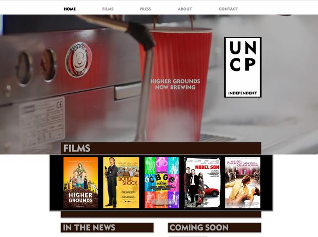 UNC Indie Website