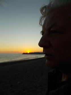 Sunset in Caleta