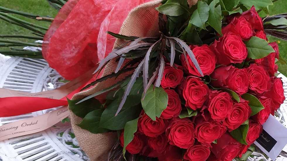 Amour Red Rose Bouquet