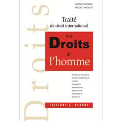Publication du Traité de droit international des droits de l'homme par L. Hennebel et H. Tigroud
