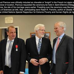 Dr. Piarroux reçoit la Légion d'honneur