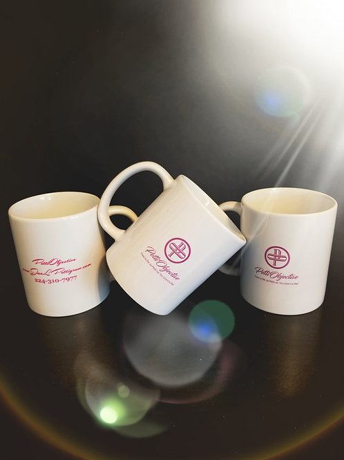PettiObjective Logo Wraparound Mug