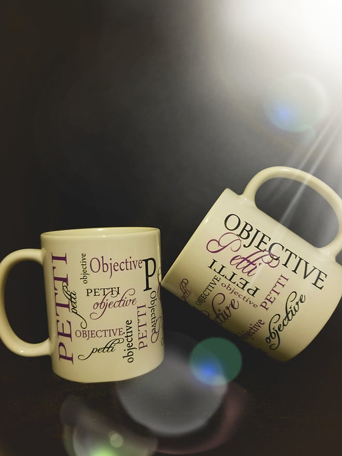 PettiObjective Signature Mug
