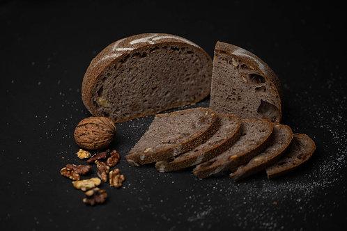 Pâine cu prune uscate și nuci coapte 600 gr